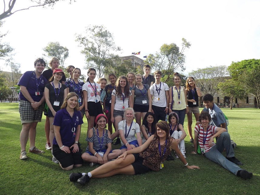 University of Queensland Young Scholars Programme.