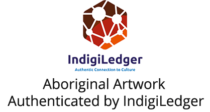 Aboriginal Artwork Authenticated by IndigiLedger