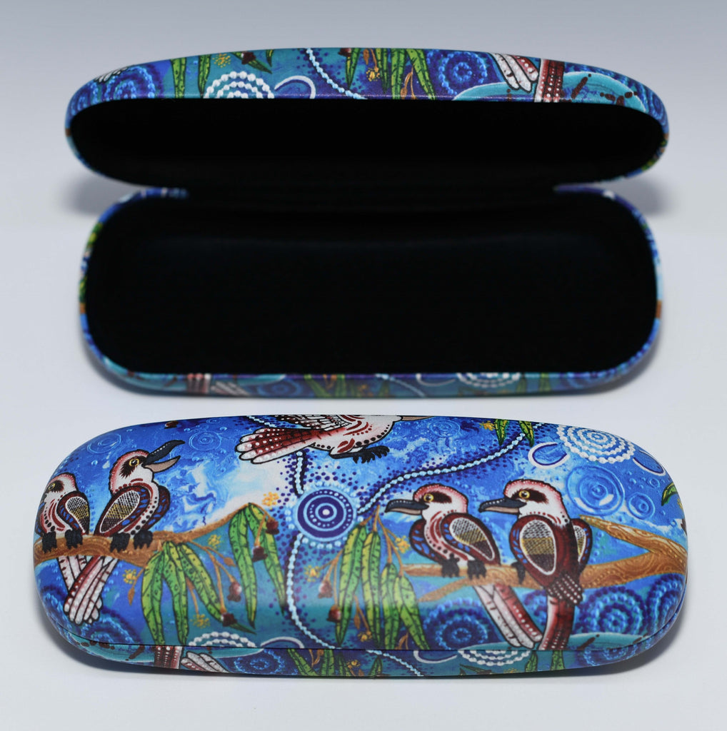 Kookaburra Glasses Case