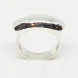 Sterling Silver solid bar ring