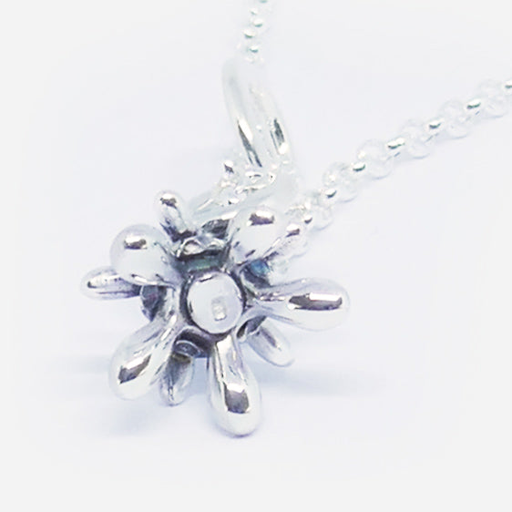 'Alice' Stg silver curly pendant medium length (Chain sold separately)