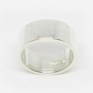 Chunky wide flat ring