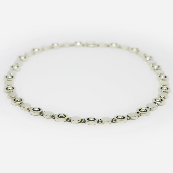 Beautifully made Sterling silver necklace