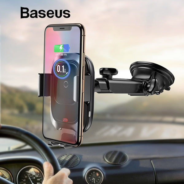 Automatic Wireless Car Charger Stand | Wireless Car Chargers | Populate.Com.Co