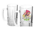 20oz Clear Glass Beer Mug