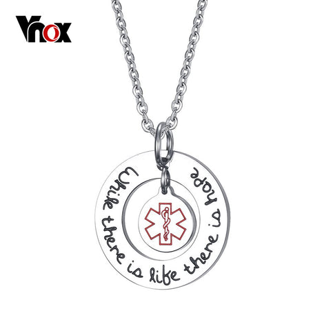 Exclusive Medical Alert ID Necklaces & Pendants for Women  Jewelry