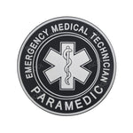 3D PVC Patch EMT Emergency Medical Star of Life Military Morale Patch Tactical Badges Hook Rubber Patches Drop Shipping