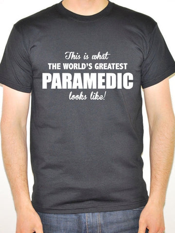Worlds Greatest Paramedic Short-Sleeve Tee Shirt