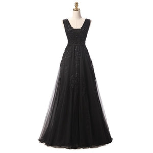 Lace Beading Formal Dress