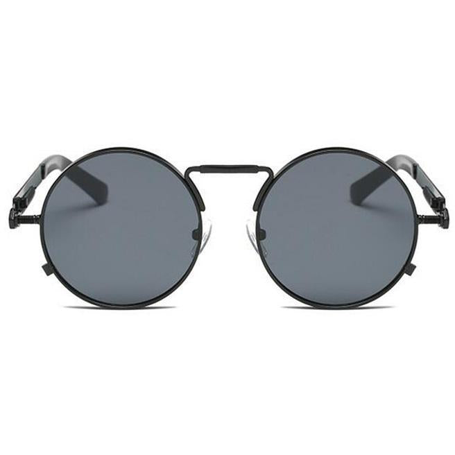 Unisex Retro Steampunk Metal Sunglasses