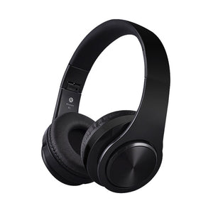 Black Wireless Bluetooth Headphones
