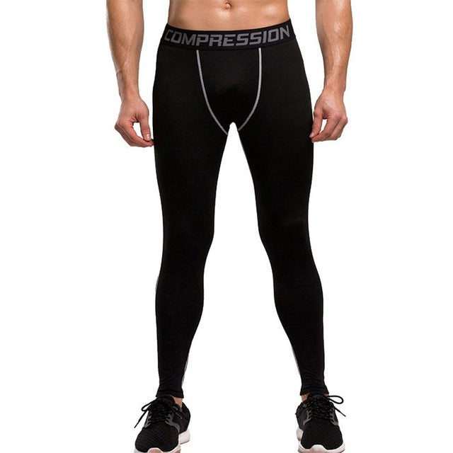 Men's Compression Running Tights