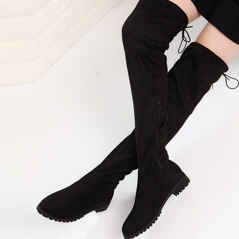 Women's Thigh High Suede Boots