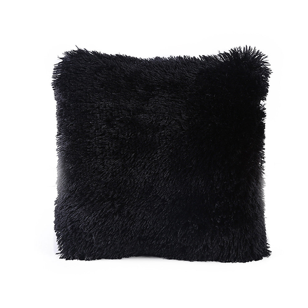 Soft Fur Decorative Pillow