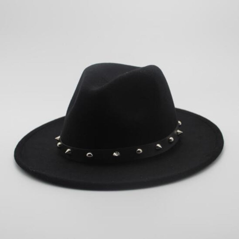 Men's Studded Fedora