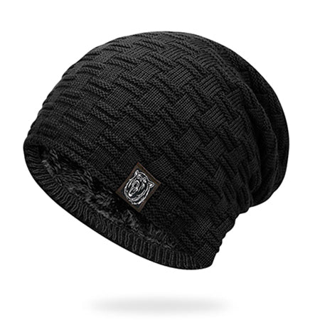 Men's Knitted Fleece Lined Beanie