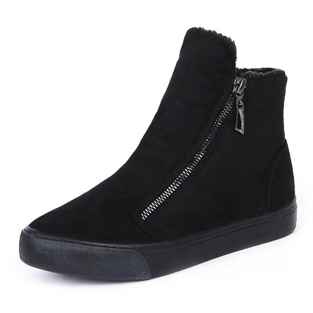 Women's Fur Lined Winter Boots