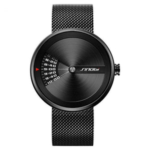 Men's Black SINOBI  Modern Series Watch