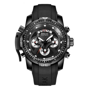 Men's Black Military Sport Watch by BREAK