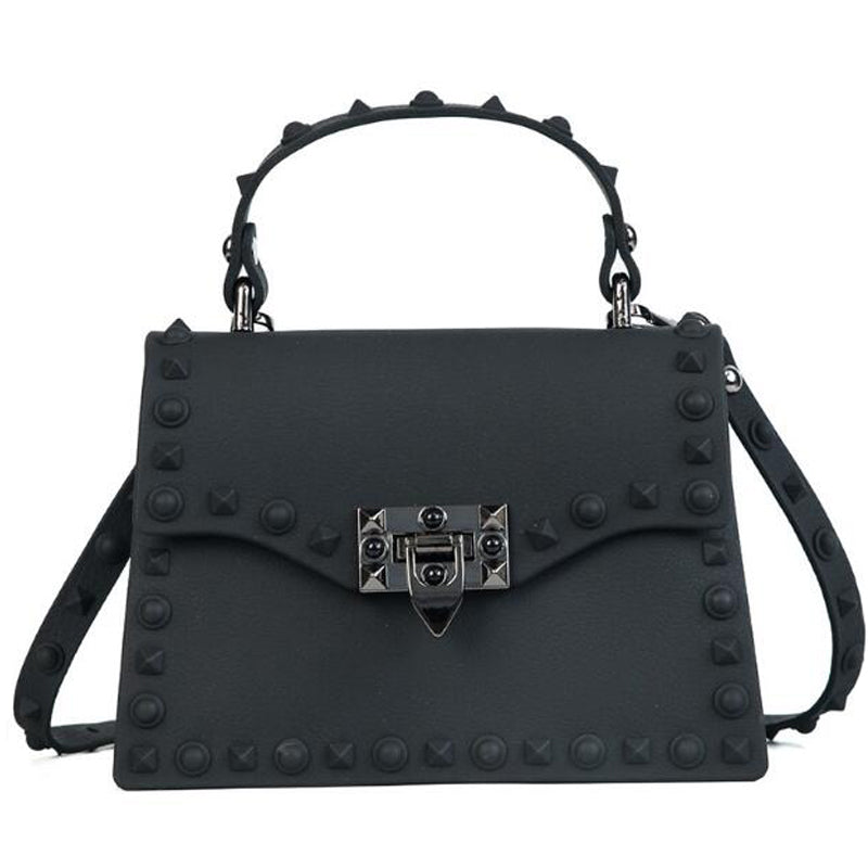 Women's Studded Messenger Bag