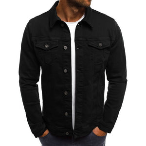 Men's Black Everyday Denim Jacket
