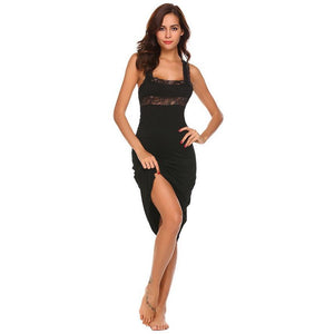 Women's Black Lucy Nightgown