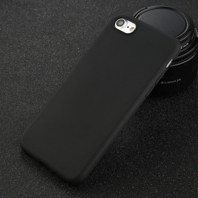 Black IPhone Compatible Phone Case