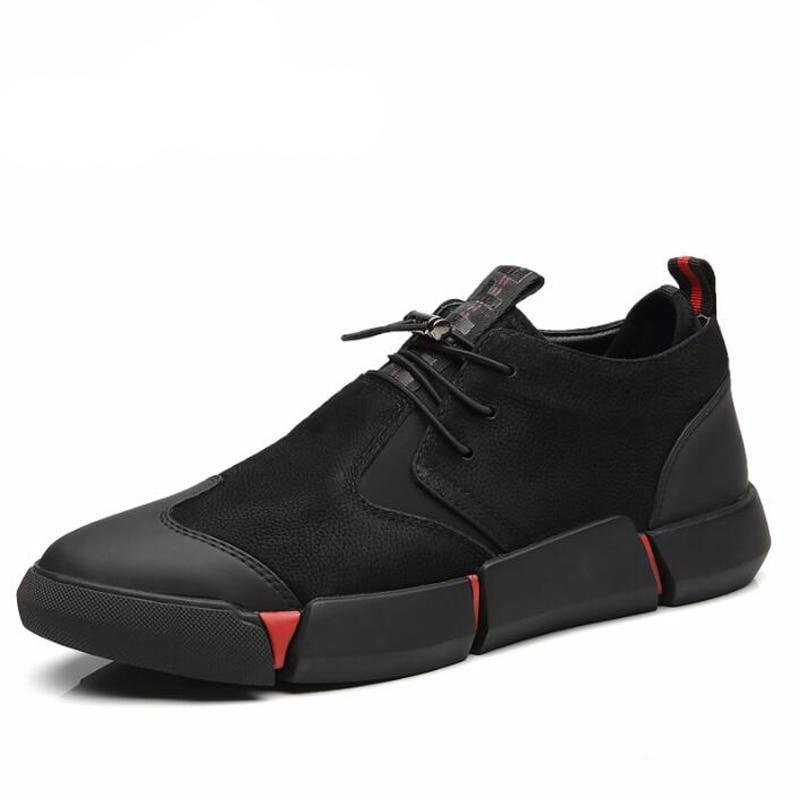 Men's Black Casual Fashion Sneakers