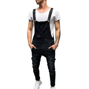 Men's Distressed Overall's