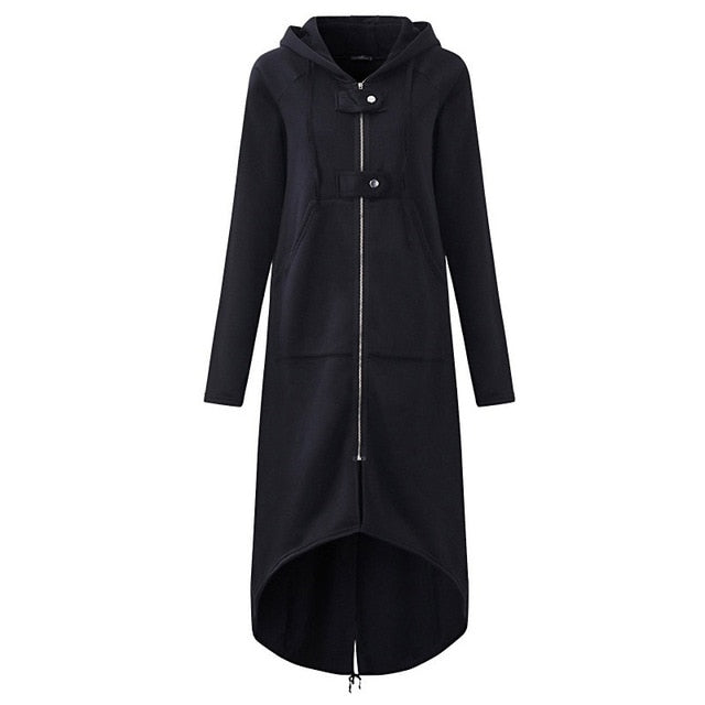 Women's Hooded Trench Coat