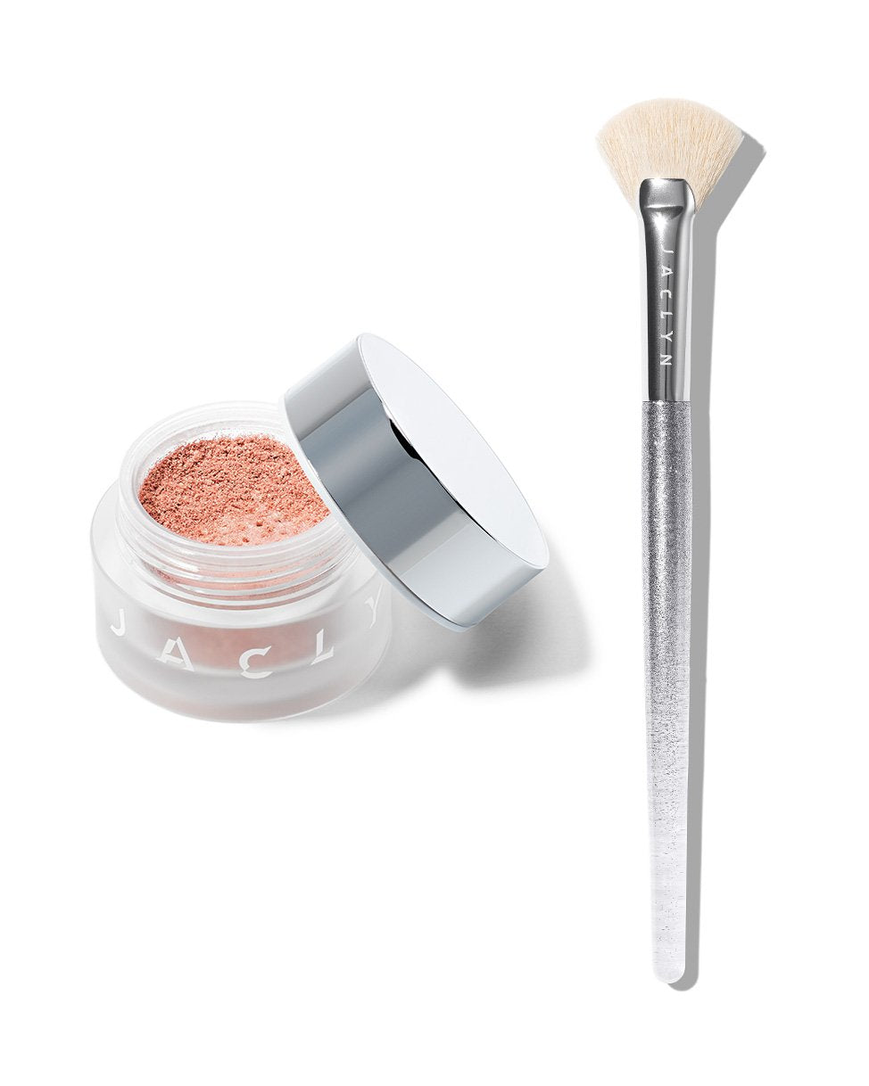 BEAMING LIGHT DUO AMPED LOOSE HIGHLIGHTER & BRUSH SET