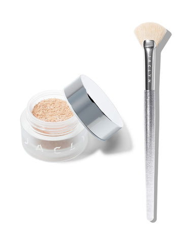 BEAMING LIGHT DUO EXTRA LOOSE HIGHLIGHTER & BRUSH SET