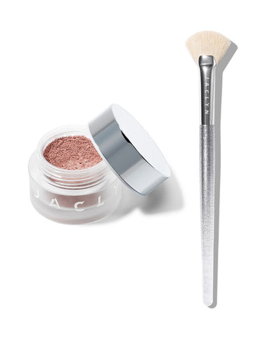 BEAMING LIGHT DUO HIGH VOLT LOOSE HIGHLIGHTER & BRUSH SET