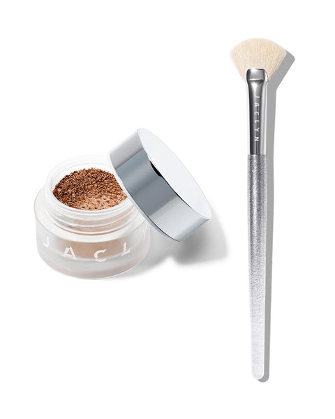 BEAMING LIGHT DUO MEGAWATT LOOSE HIGHLIGHTER & BRUSH SET