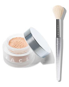 MOOD LIGHT DUO BRIGHTEN UP LUMINOUS POWDER & BRUSH SET