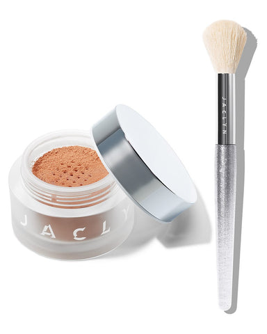 MOOD LIGHT DUO BRILLIANT LUMINOUS POWDER & BRUSH SET
