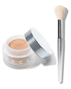 MOOD LIGHT DUO CARATS LUMINOUS POWDER & BRUSH SET