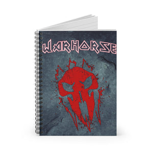 Warhorse Spiral Notebook - Ruled Line