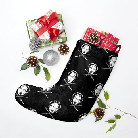 Scary Su Christmas Stocking