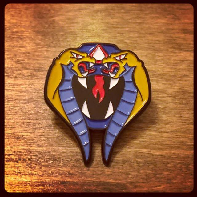 Ophidian the Cobra Enamel Pin