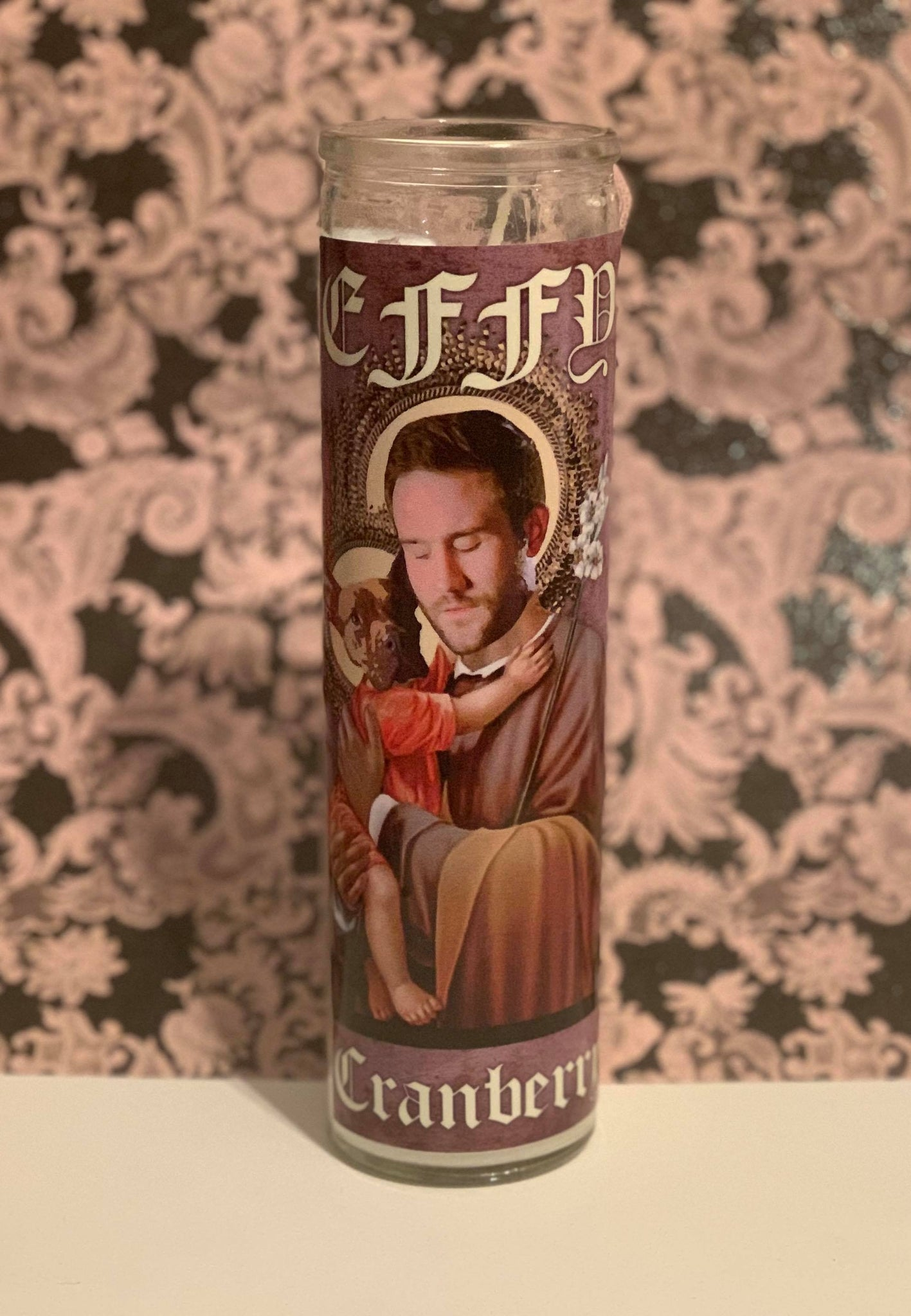 Effy & Cranberry Prayer Candle
