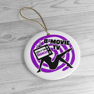 B-Movie TV Ornament