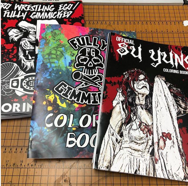 Su Yung Coloring Book