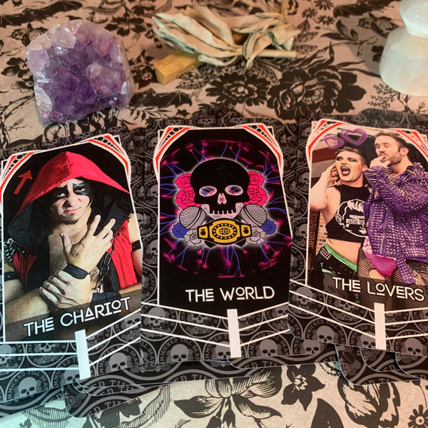Fully Gimmicked Major Arcana Tarot Set