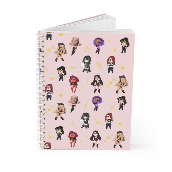 FG Kawaii Girls Club Spiral Notebook