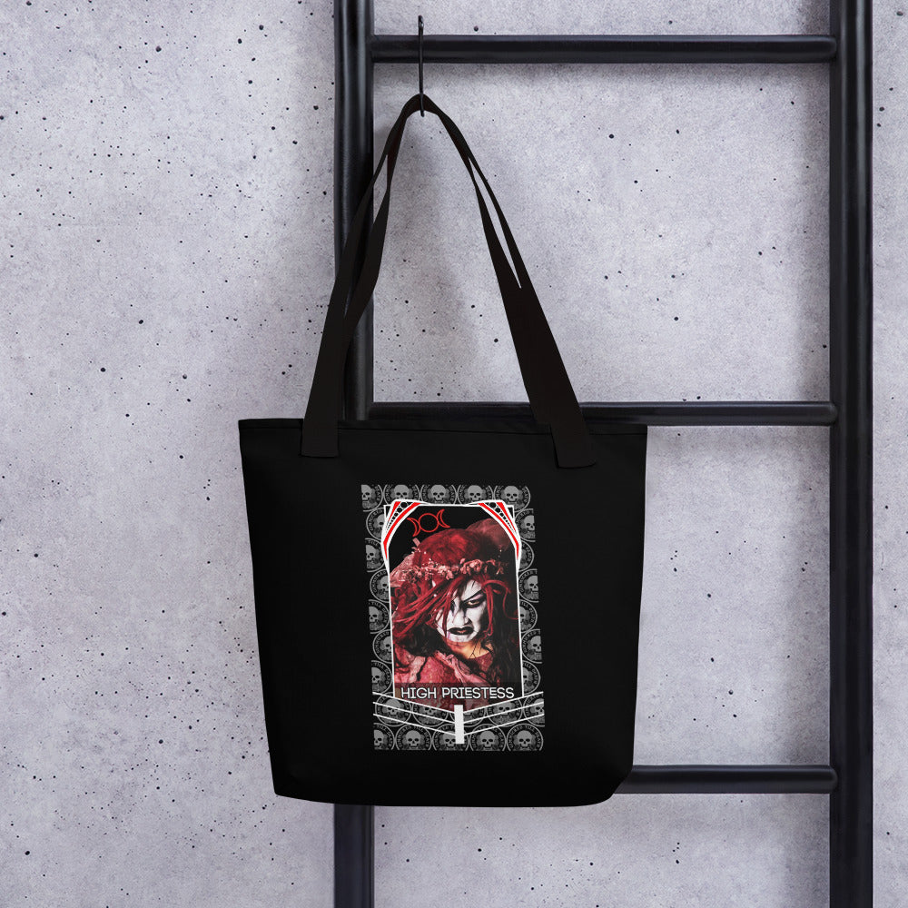 High Priestess Su Yung Tarot Card Art Tote bag