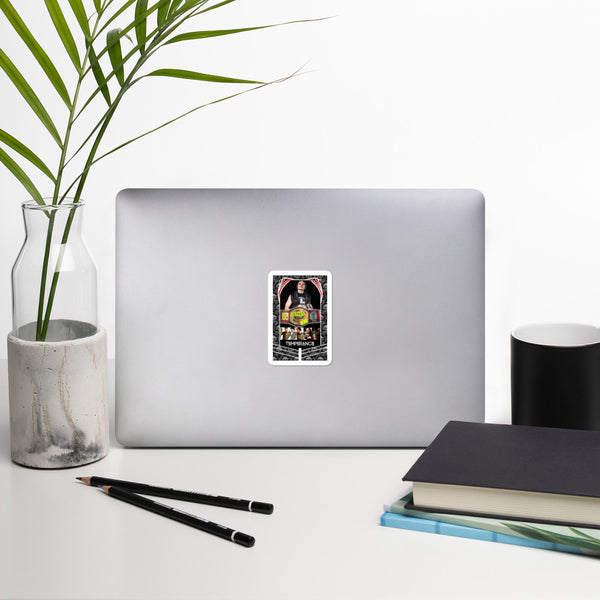 WNRN Internet Title Tarot Card Art Sticker