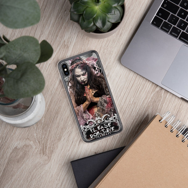 Su Yung Prayer Candle iPhone Case