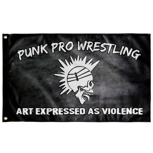 Punk Pro - Art Expressed as Violence Flag