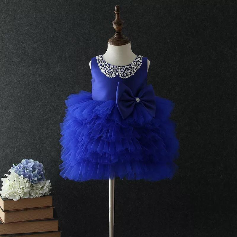 Alexis Dress in Sapphire